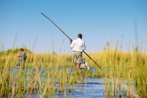 Botswana • Sambia - Auf Pirsch in der Savanne und im Einbaum durchs Delta