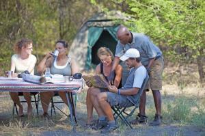 Botswana • Simbabwe - Wüstensand und Wasserwelt