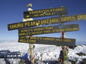 Kilimanjaro: Auf das Dach Afrikas