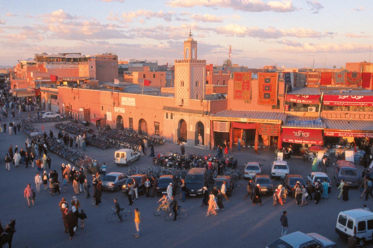 Marokko und Spanien  -  zwischen Islam und Christentum