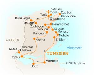 Tunesien: Höhepunkte